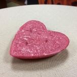 Küünlatäidis keraamikas südamele