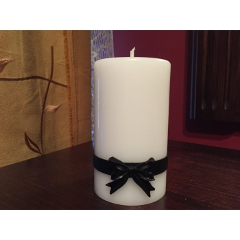 Handmade Funeral Candle