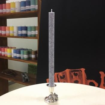 Hall kroonküünal steariinküünal Gray Dinner candle Kaabsoo