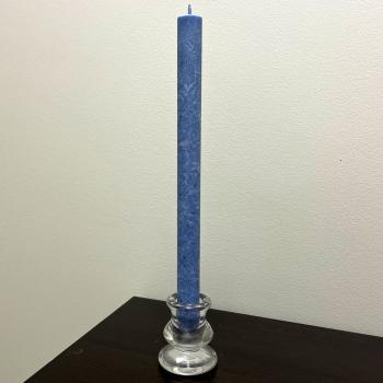Tumesinine kroonküünal steariinküünal antiikküünal Dark Blue Vegetable Stearin Tall Natural Dinner candle