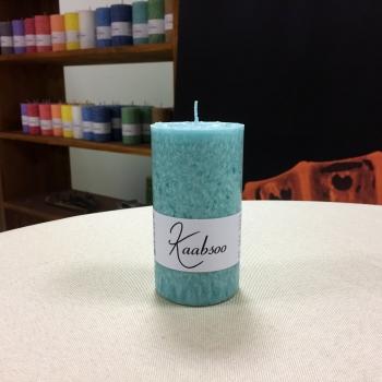 Mint looduslik käsitöö roheline lauaküünal Kaabsoo Mint Green Natural Pillar Candle