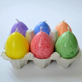 Munaküünlad lihavõtteküünlad Easter Egg Candles Kaabsoo