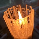 Kaabsoo Gothic Pillar Candle
