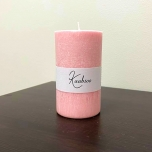 Cherry Blossom Pillar Candle, 10x6 cm