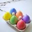 Lihavõtete munaküünlad taimsest looduslikust steariinist Easter Egg Candles from Vegetable Stearin
